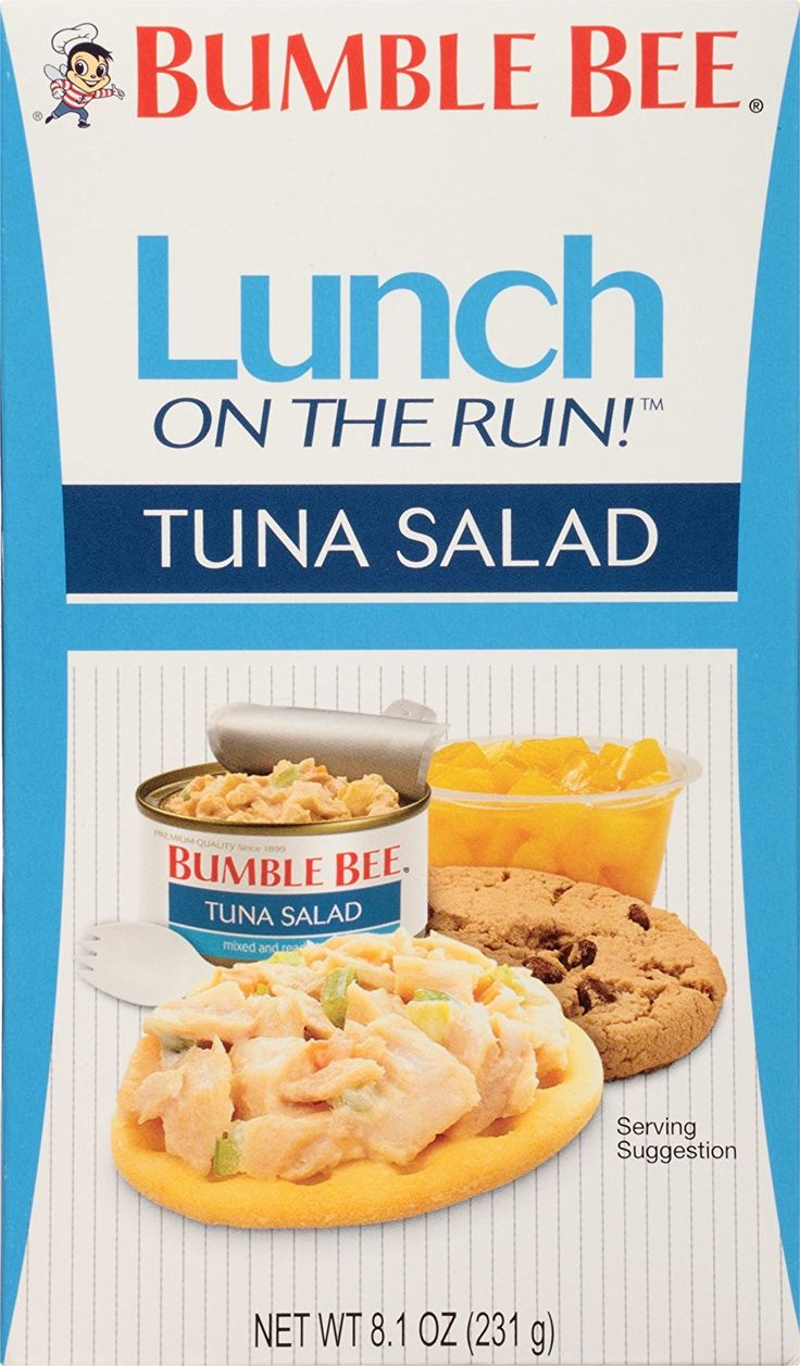 Bumble Bee Lunch on The Run Kit, Tuna Salad, 8.1 Ounce (Pack of 4) ** Check out this great image @ : Fresh Groceries