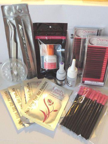 Charmed Deluxe Sample Eyelash Extension Kit - Charmed Lashes