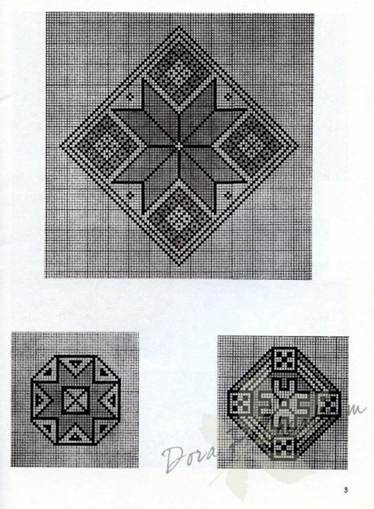 Gallery.ru / Фото #3 - Persian Rug Motifs for Needlepoint - Dora2012