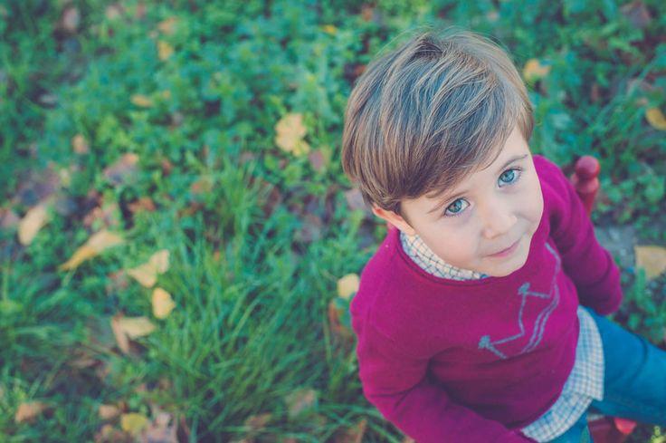 Fotografía de #Familia en #Castellón y #Valencia - Reportajes para niñas y niños en el bosque - Retrato -#Otoño #Autum #Kids #Portrait #Camp #Campo
