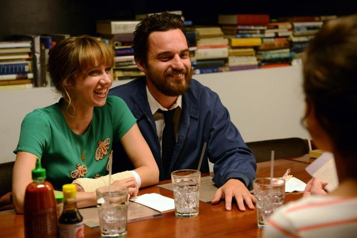 THE PRETTY ONE, from left: Zoe Kazan, Jake Johnson, 2013. ph: Erica Parise/©Dada Films