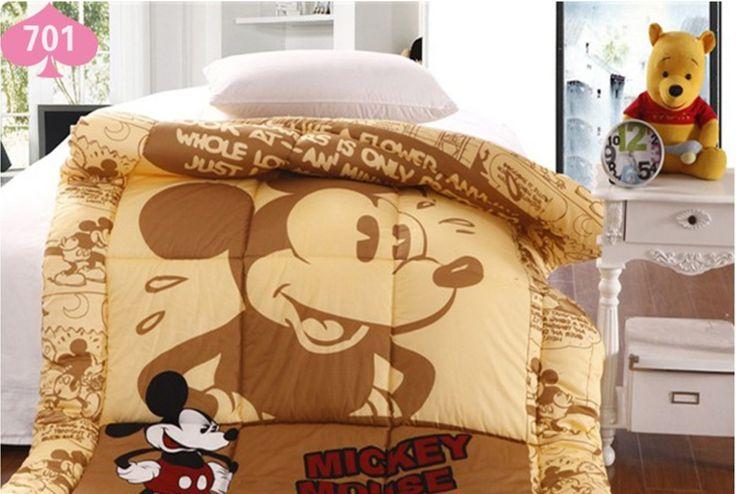 Детское Постельное Белье/микки маус одеяло/Ребенок дети одеяло одеяло/Одеяло/Одеяло/микки и минни постельные принадлежности/150 СМ * 220 СМ Твин Размер