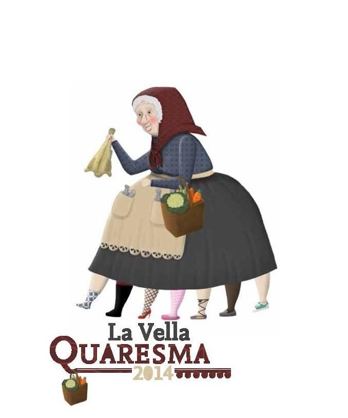Activitat per serrar les cames de la Vella Quaresma, a les Peixateries Velles   Ajuntament de Reus