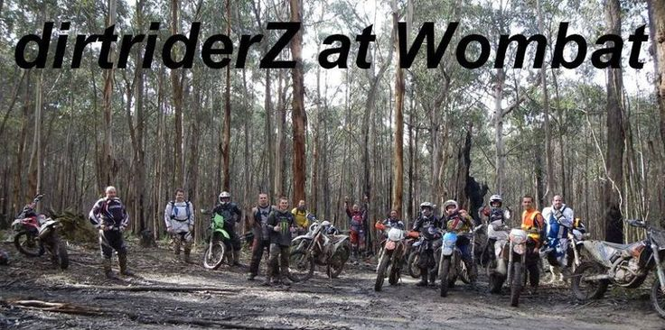 Some of the crew at Wombat State Forest