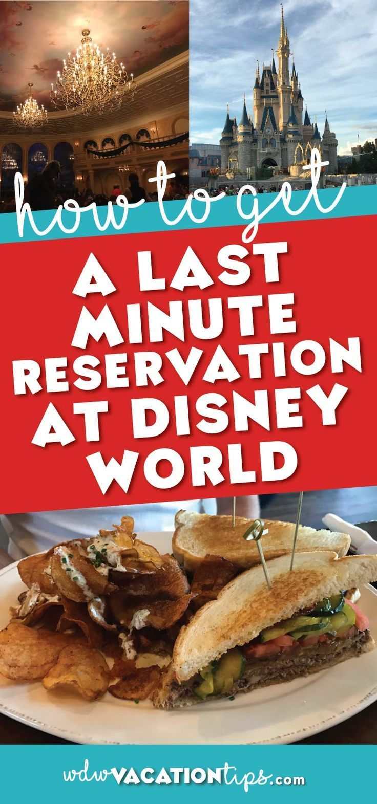 Top tips and steps on how to get a last minute reservation at Disney World. One of the biggest disappointments you can face on your Disney World vacation is not getting a chance to eat where you want.