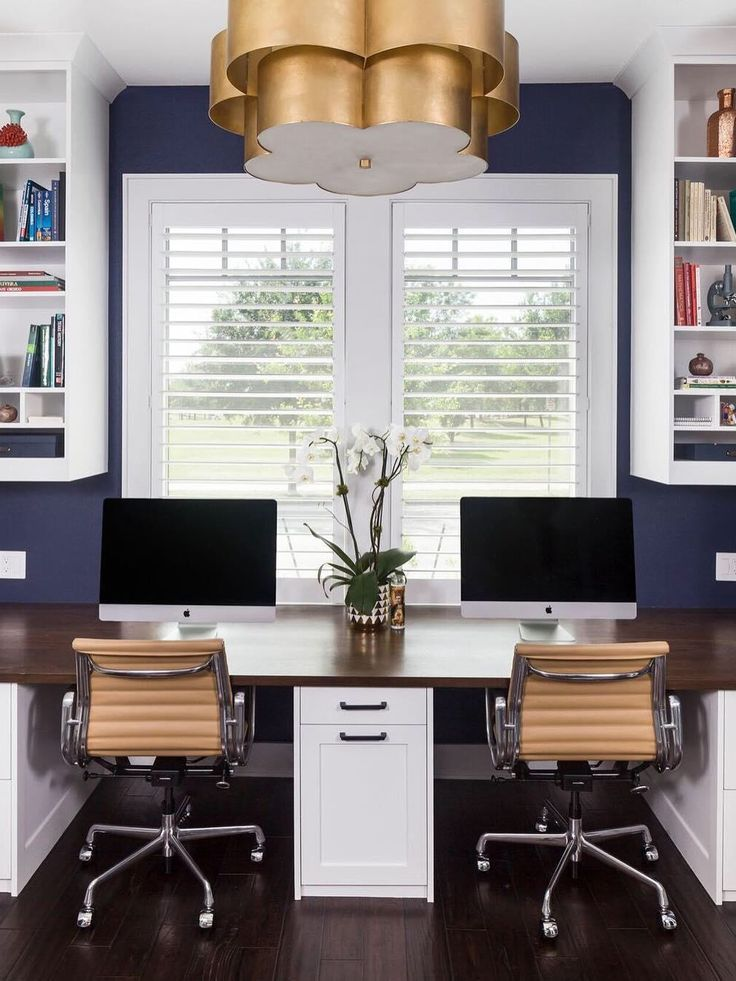 home office room ideas. arabelle hanging shade by aerin in gild home office interior design jameson interiors room ideas