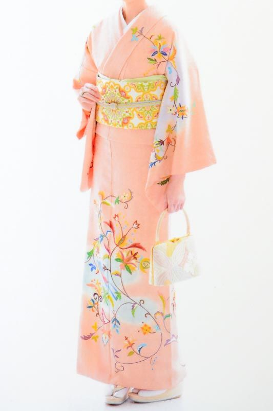 Japanse Silk Kimono
