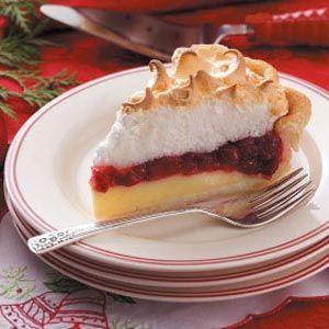 Cranberry+Custard+Meringue+Pie