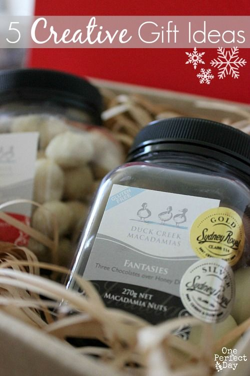 5 Creative Gift Ideas for Christmas - One Perfect Day