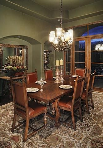 252 best images about southwest style on pinterest for Mexican dining room ideas