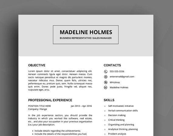 17 Best images about CV template Resume template design and – Business Reference List