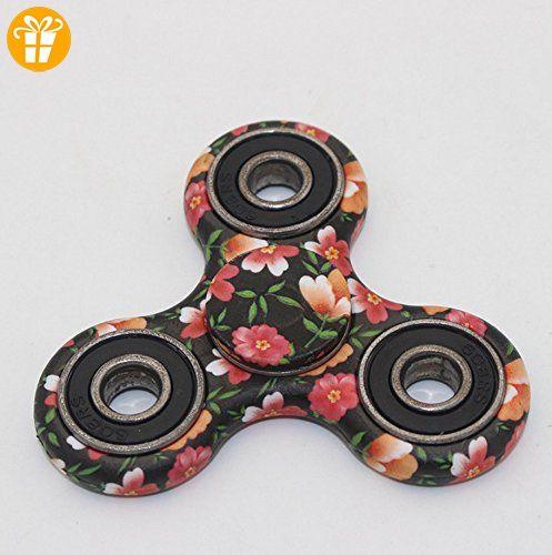 tfxwerws Tolles Amazing Flower Muster Hand zappeln Spinner Spielzeug für Kinder Erwachsene Stress reduzieren - Fidget spinner (*Partner-Link)