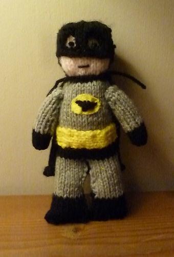 Pattern: Holy knitting pattern, Batman! - Nerd Knitting