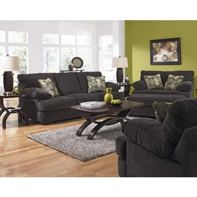 Jackson Armstrong Living Room Set In Graphite