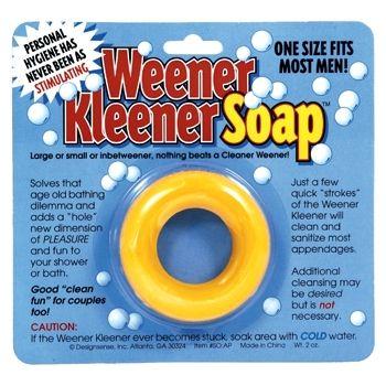 $7 Weener Kleener Soap...you should buy it, but keep it in the original packaging! It will be worth THOUSANDS someday.: Soaps, Weenerkleener, Gift Ideas, Weener Kleener, Funny Stuff, White Elephant, Gag Gifts, Design Sense