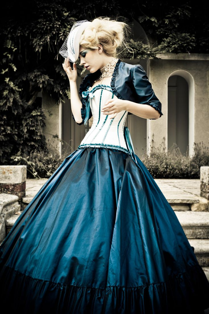 Alternative Wedding Dress - Steampunk, Victorian, Corset, Gothic. £1,200.00, via Etsy.