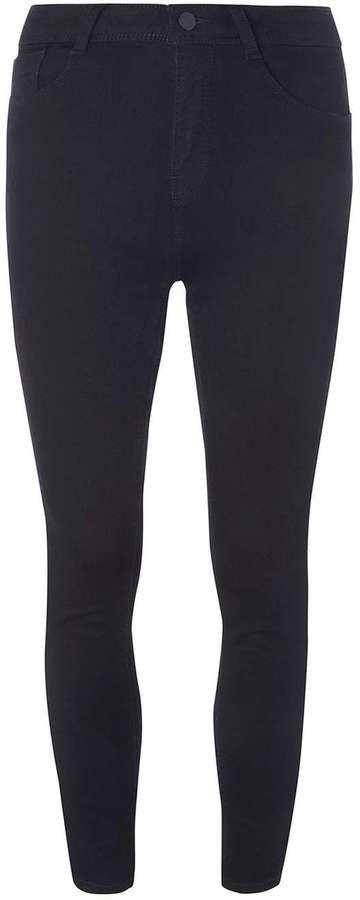 Petite Black High Waisted Bailey Jeans