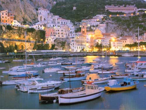 Amalfi, Italy - a beautiful place and the birthplace of my great grandmother