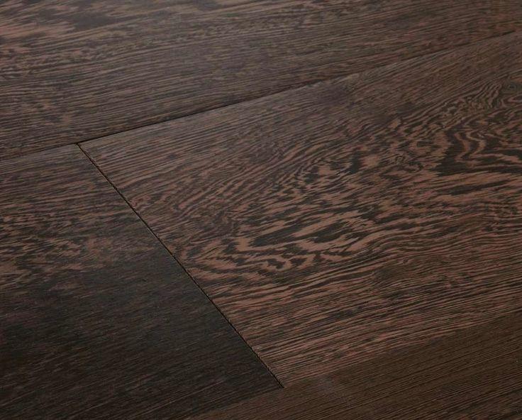 Dark empire – Wenge, sanded, waxed - bARC Flooring