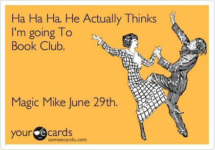 magic mike: Book Club, Movie