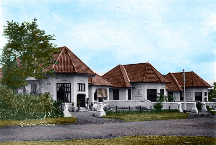 Villa's, Bandoeng. Between 1910 and 1940