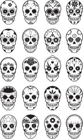 9c3fb2b96cc Sugar Skulls