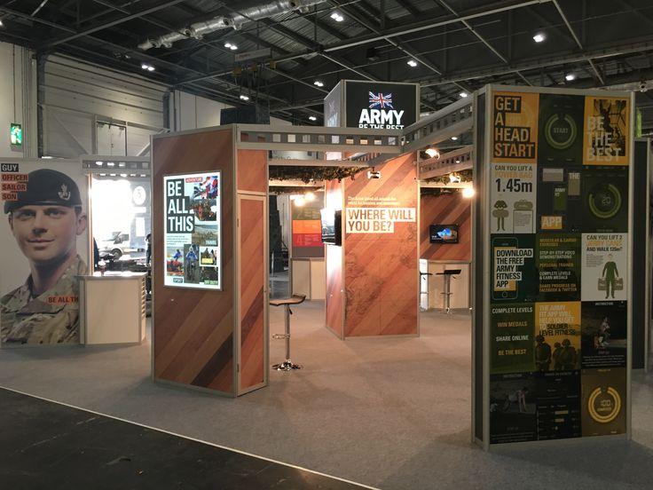 Exhibition Stand Builders Swindon : Hytner have been a long term supplier to the army creating
