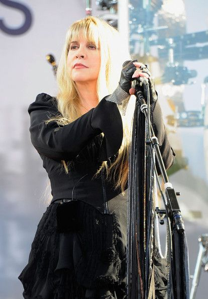 Stevie Nicks Performs On ABC's 'Good Morning America'