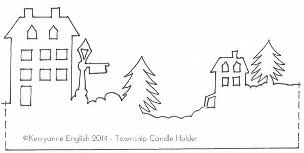 Download Template Print And Fold Into Small Paper Houses Which
