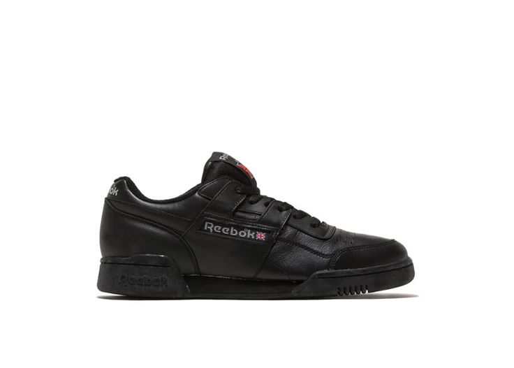 Workout plus vintage Sneakers color black- workout plus vintage sneakers in black leather. pre-cut eva midsole. abrasion resistant rubber sole. height of sole: 2 cm. height of heel: 3 cm.