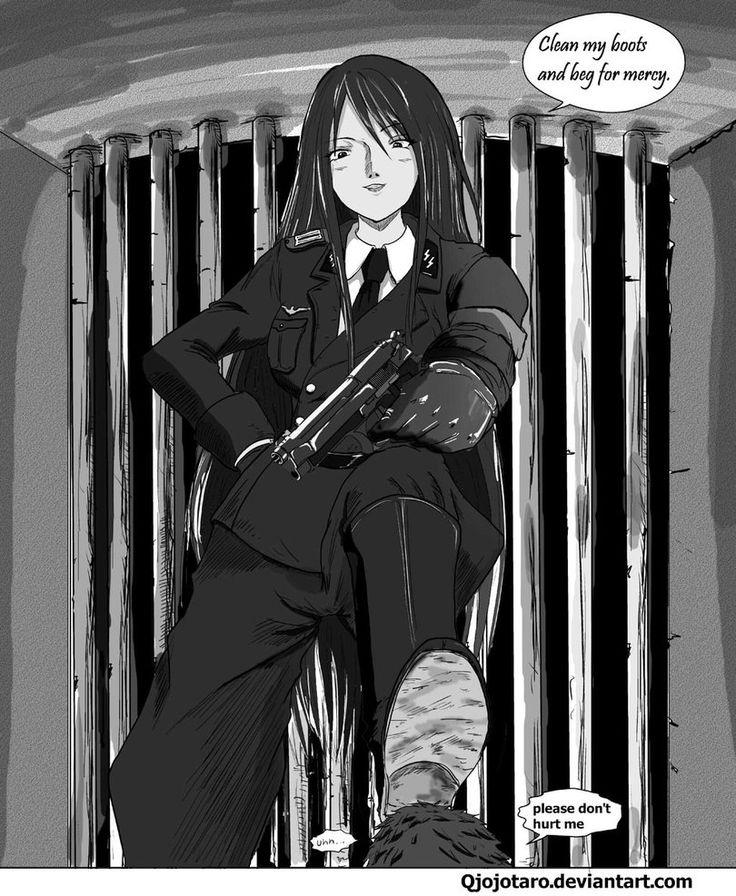 Femdom cartoon the prisoner
