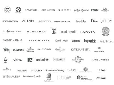 LUXURY BRANDS LOGO - Pesquisa do Google | LOGOS | Pinterest | Logos