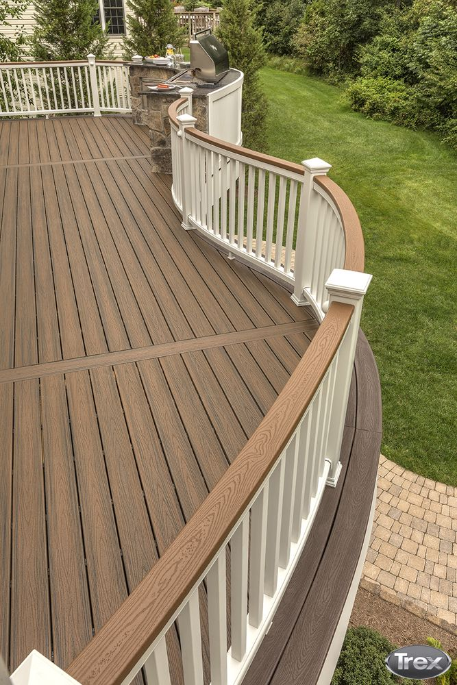 Best 25 trex decking colors ideas on pinterest for Colors of composite decking