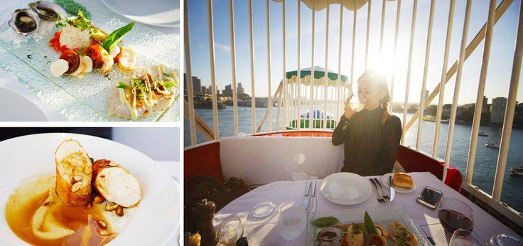 Ferris Wheel Dining Experience at Luna Park Sydney