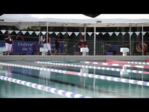 Championnat de France natation adaptée juin2014