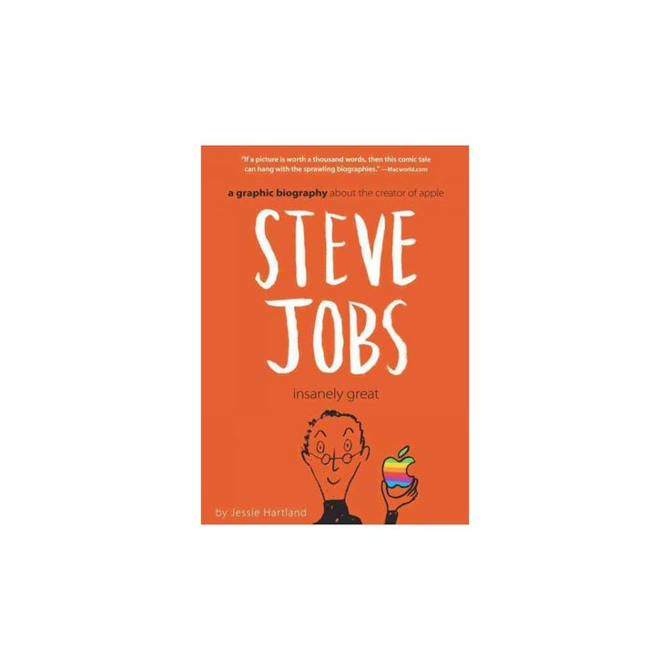 Steve Jobs : Insanely Great (Paperback) (Jessie Hartland)