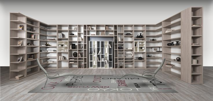 The Giornopergiorno bookcases propose themselves as essential elements in the home environment, presenting themselves in a precise, but at the same time, simple style, maximizing the volumes of elements for a meticulous and functional organization of spaces