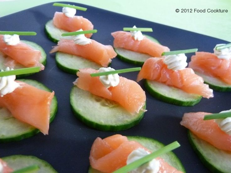 17 best ideas about salmon canapes on pinterest smoked for Gluten free canape ideas