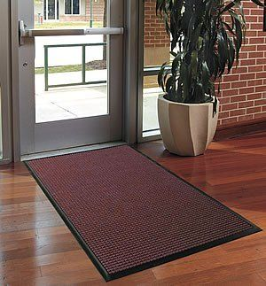 FloorGuard Commercial or Residential Entrance Mat - 6' x 20' - Blue by Doormats & More. $594.99. This Entrance Mat protects floors from the elements, trapping dirt and moisture on contact. 100% rubber backing provides maximum durability, while the needle-punched polypropelene fiber scrapes shoes of dirt and debris. Each ridge of the mat is reinforced with rubber, keeping the scraping tips rigid enough to withstand high traffic areas. A rubber cleated backing provid...