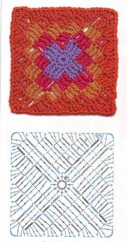 Granny Square häkeln - crochet