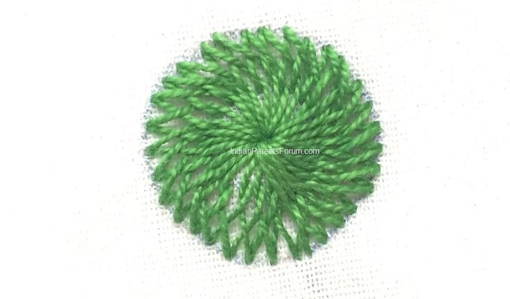 Chemanthy work - Indian embroidery stitches - hand embroidery tutorials. jwt