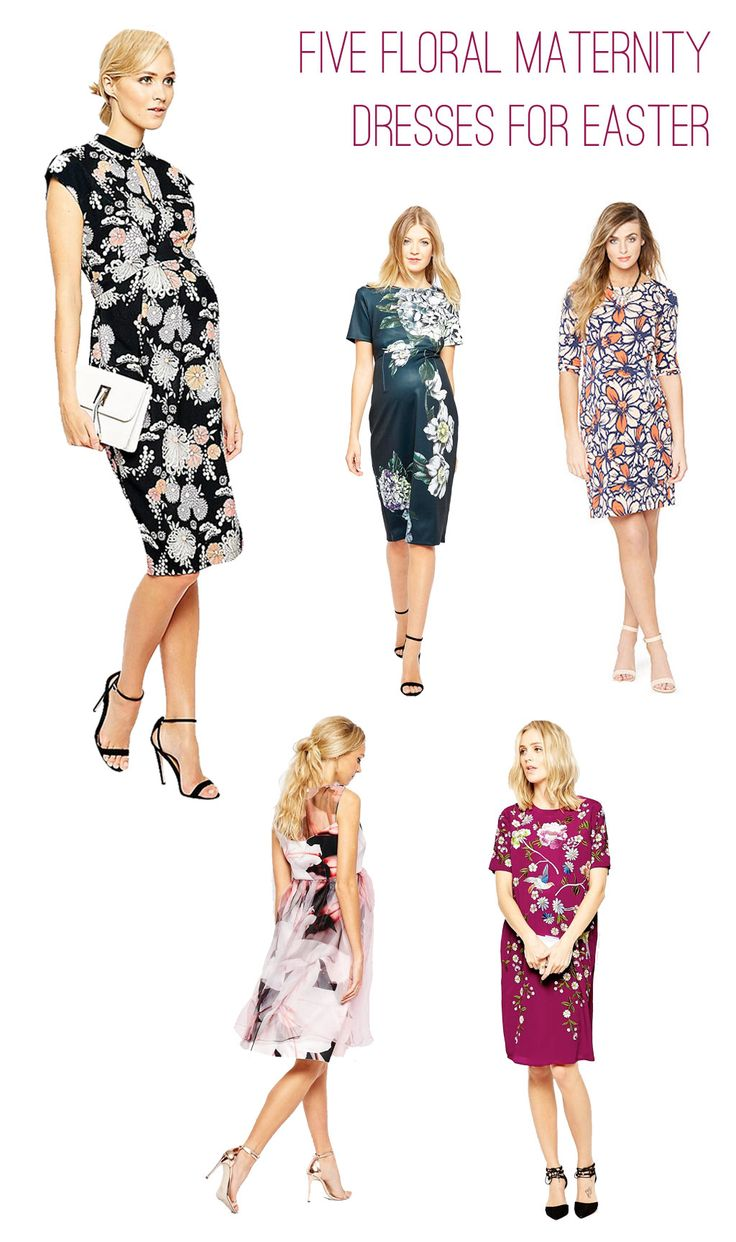 Best 25 floral maternity dresses ideas on pinterest maternity stylish floral maternity dresses under 75 for easter emilystyle ombrellifo Image collections