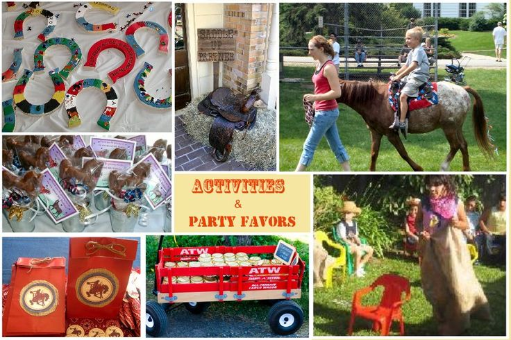 horse themed party ideas