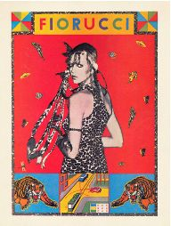 Vittorio Spaggiari, Manifesto / Poster, Fiorucci, 1976 courtesy Augusto Vignali.