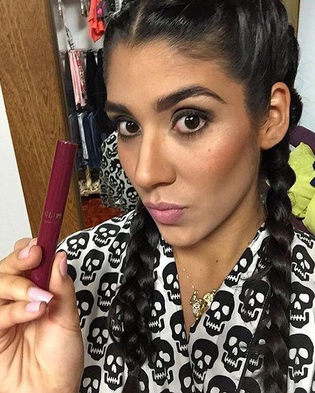 Sugar lips. @sofiuribe1992 #glips #sugar #makeup #glipstick