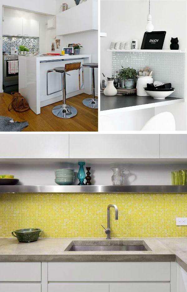 Una de las mejores opciones de revestimiento de paredes de - Gresite para cocinas ...