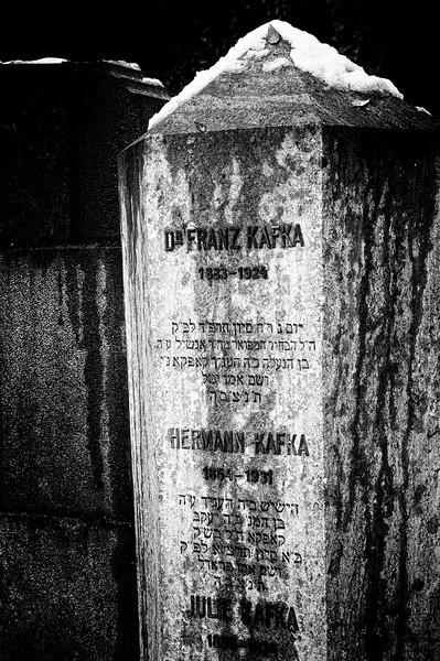 Franz Kafka's grave