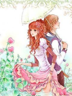 Love Hina Wallpaper Couple At