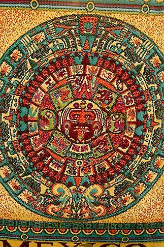 David Sanger | Mexican art, Aztec Calendar