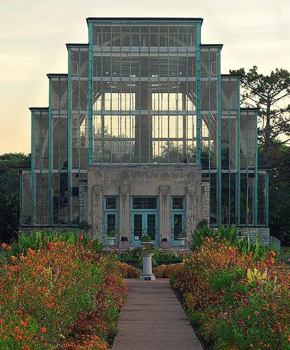 The Jewel Box, in Forest Park, Saint Louis, Missouri